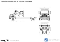 Freightliner Business Class M2 106 Crew Cab Chassis