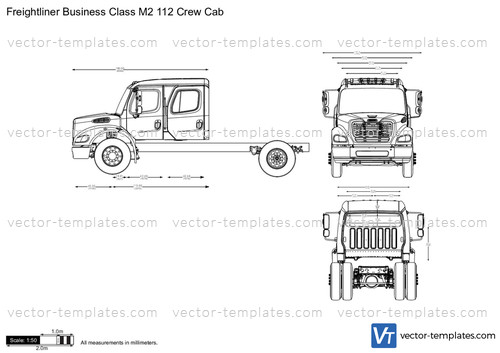 Freightliner Business Class M2 112 Crew Cab