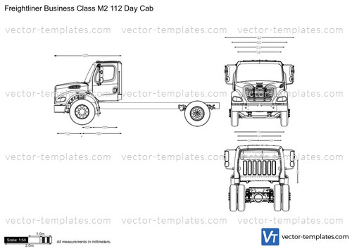 Templates - Trucks - Freightliner - Freightliner Business Class M2