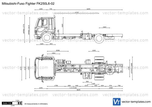 Mitsubishi-Fuso Fighter FK250L6-02