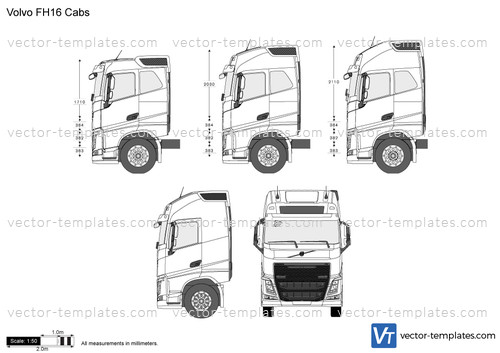 Volvo FH16 Cabs
