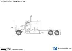 Freightliner Coronado Mid Roof XT