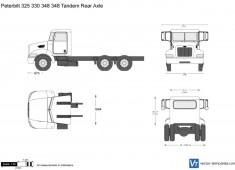 Peterbilt 348 Tandem Rear Axle