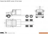 Western Star 4900SF Lowmax 123 Car Hauler