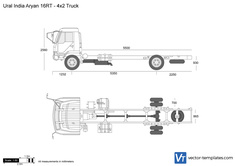 Ural India Aryan 16RT - 4x2 Truck