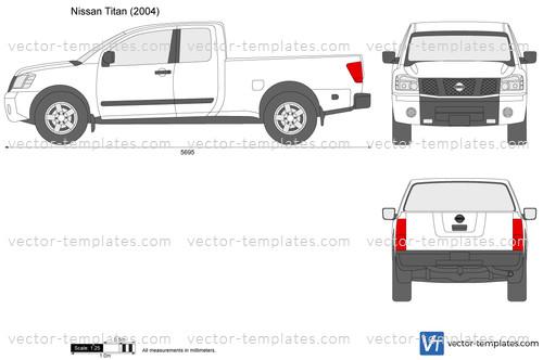 2007 Chevrolet Silverado 1500 Extended Cab >> Templates - Cars - Nissan - Nissan Titan