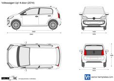 Volkswagen Up! 4-door
