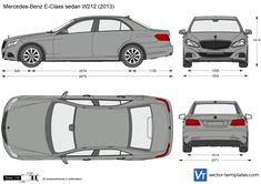 Mercedes-Benz E-Class Sedan W212