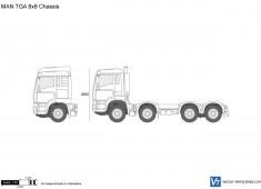 MAN TGA 8x8 Chassis
