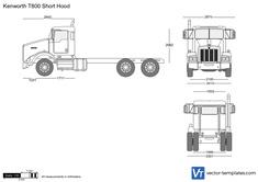 Kenworth T800 Short Hood