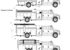 Sutphen C-Series Fire Truck