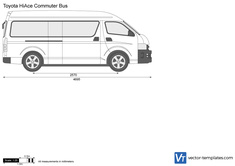 Toyota HiAce Commuter Bus