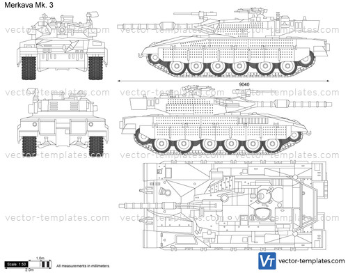 Merkava Mk. 3