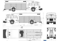 Sutphen Brewerton Fire Truck