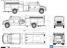 Sutphen HS-4950 Fire Truck