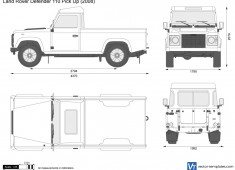 Land Rover Defender 110 Pick Up