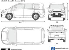 Mitsubishi Delica D5 Roadest