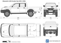 Mitsubishi L200 Double Cab 4WD