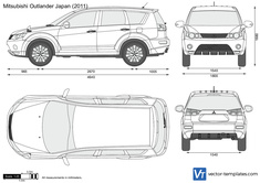 Mitsubishi Outlander Japan