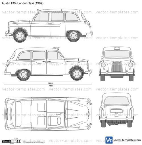 Austin FX4 London Taxi