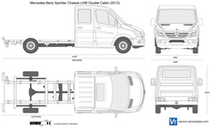 Mercedes-Benz Sprinter Chassis LWB Double Cabin