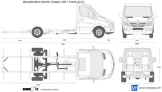 Mercedes-Benz Sprinter Chassis LWB T-Frame