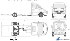 Mercedes-Benz Sprinter Chassis MWB T-Frame