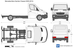 Mercedes-Benz Sprinter Chassis SWB