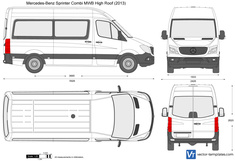 Mercedes-Benz Sprinter Combi MWB High Roof