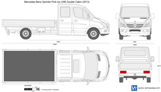 Mercedes-Benz Sprinter Pick-Up LWB Double Cabin