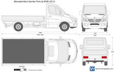 Mercedes-Benz Sprinter Pick-Up MWB