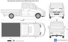 Mercedes-Benz Sprinter Pick-Up MWB Double Cabin