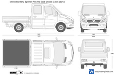 Mercedes-Benz Sprinter Pick-Up SWB Double Cabin