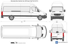 Mercedes-Benz Sprinter Van LWB Super High Roof
