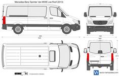 Mercedes-Benz Sprinter Van MWB Low Roof