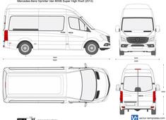 Mercedes-Benz Sprinter Van MWB Super High Roof