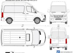 Mercedes-Benz Sprinter Van SWB High Roof