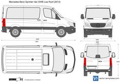 Mercedes-Benz Sprinter Van SWB Low Roof