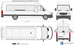Mercedes-Benz Sprinter Van XLWB High Roof