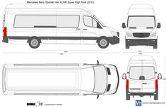 Mercedes-Benz Sprinter Van XLWB Super High Roof