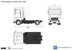 Renault Magnum E3900 T4x2