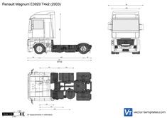 Renault Magnum E3920 T4x2