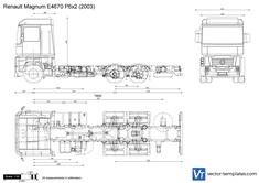Renault Magnum E4670 P6x2