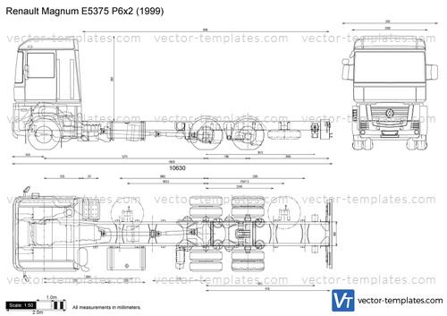 Renault Magnum E5375 P6x2