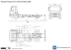 Renault Premium D11L 24S 4x2 4365