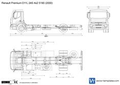 Renault Premium D11L 24S 4x2 5190