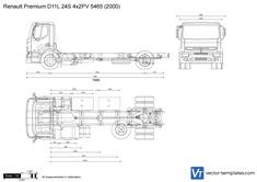 Renault Premium D11L 24S 4x2PV 5465