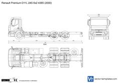 Renault Premium D11L 24S 6x2 4365