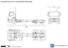 Renault Premium D11L 24S 62BOM 4750