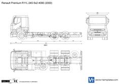 Renault Premium R11L 24S 6x2 4090